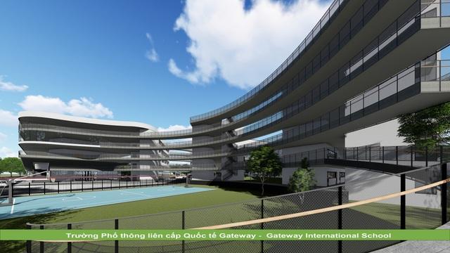 KTS Hoàng Thúc Hào bật mí về ngôi trường có kiến trúc xanh và lớn bậc nhất Hà Nội - 3
