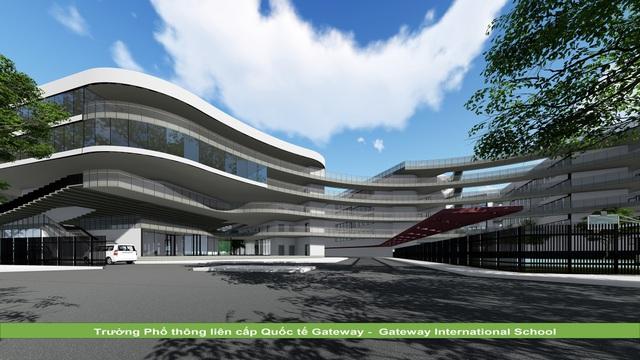 KTS Hoàng Thúc Hào bật mí về ngôi trường có kiến trúc xanh và lớn bậc nhất Hà Nội - 4