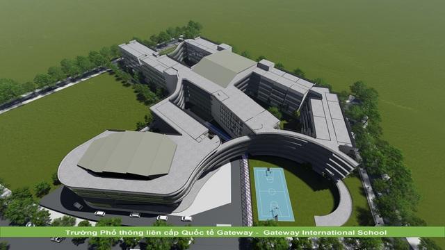 KTS Hoàng Thúc Hào bật mí về ngôi trường có kiến trúc xanh và lớn bậc nhất Hà Nội - 6
