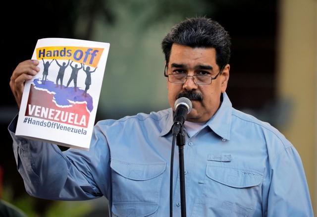 """Tổng thống Maduro yêu cầu ông Trump """"buông tay"""" khỏi Venezuela - 2"""