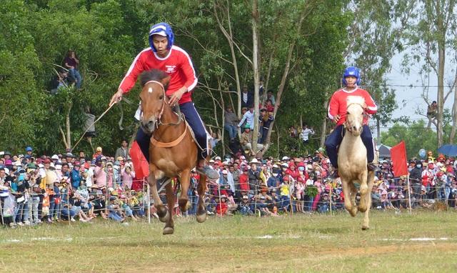 Du khách thích thú khi đến xem Hội đua ngựa Gò Thì Thùng - 3