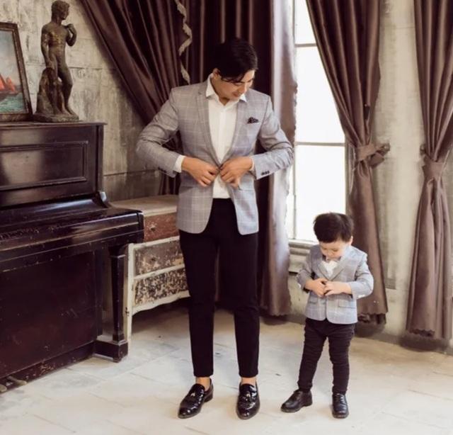 Ngọc Lan, Thanh Bình nhắng nhít chụp ảnh Tết cùng con trai - 8