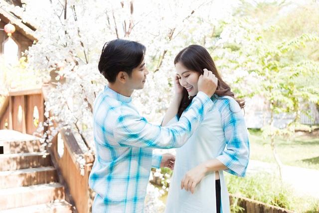Ngọc Lan, Thanh Bình nhắng nhít chụp ảnh Tết cùng con trai - 4