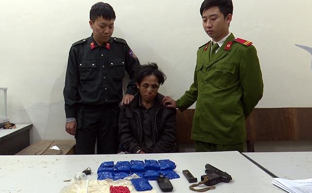 Trung úy Công an bị bắn trọng thương khi bắt giữ tội phạm ma túy