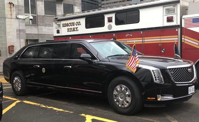 Những thông tin thú vị xung quanh chiếc xe Quái thú của ông Trump - 6