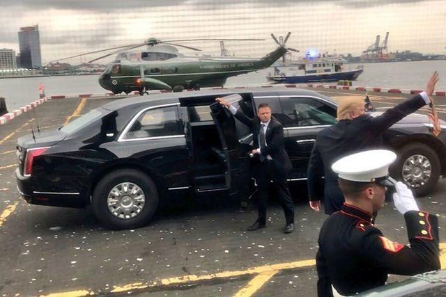 Những thông tin thú vị xung quanh chiếc xe Quái thú của ông Trump - 8