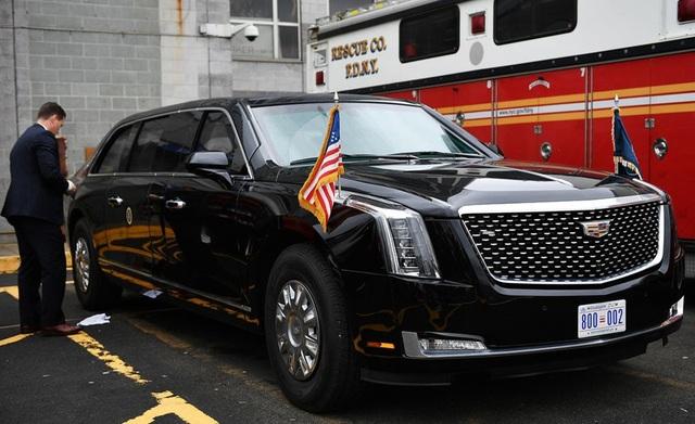 Những thông tin thú vị xung quanh chiếc xe Quái thú của ông Trump - 2