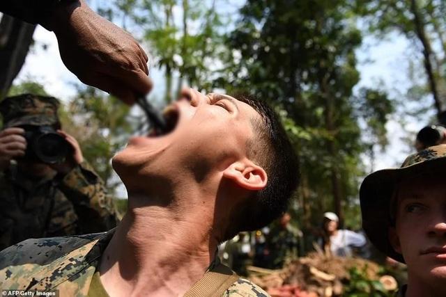 Binh sĩ uống máu rắn để sinh tồn trong tập trận lớn nhất châu Á - 3