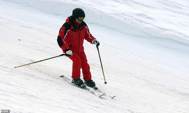 Ông Putin trượt tuyết cùng Tổng thống Belarus - 8