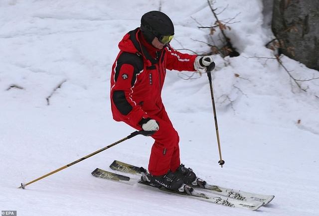 Ông Putin trượt tuyết cùng Tổng thống Belarus - 6