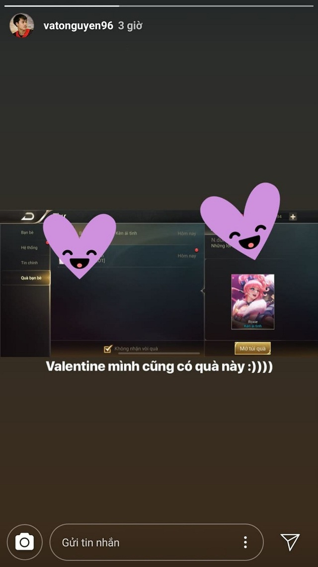 Dàn bạn gái tuyển U23 Việt Nam hào hứng khoe quà được tặng ngày Valentine - 6