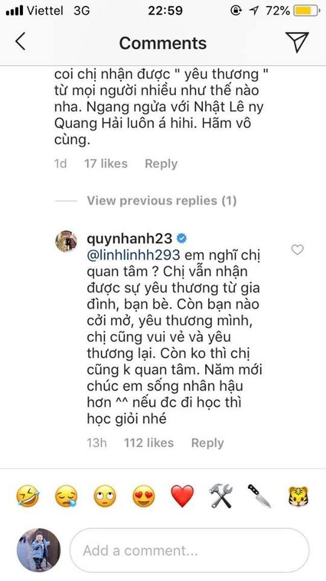 Trận chiến giữa bạn gái cầu thủ Quang Hải, Văn Lâm, Duy Mạnh với anti fans - 5