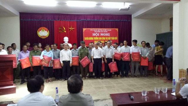 Người uy tín trong đồng bào dân tộc ở Nghệ An: Hãy đi từ cái nhỏ nhất! - 6