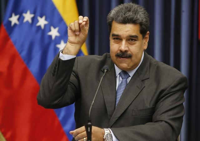 """Tổng thống Maduro cáo buộc Mỹ """"đánh cắp"""" hàng tỷ USD của Venezuela - 1"""