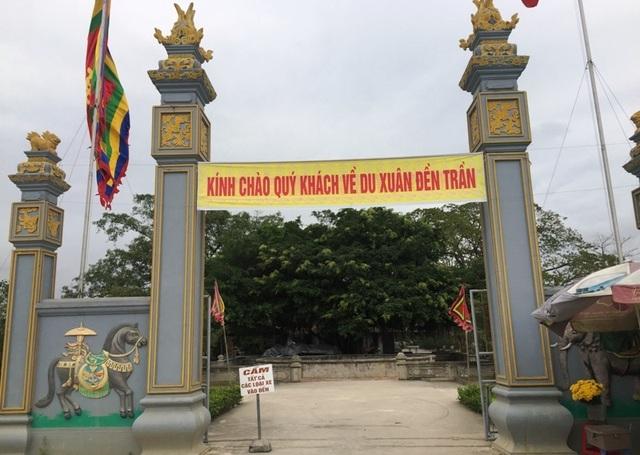 Báo cáo Bộ Văn hóa về việc phát ấn ở đền thờ Trần Hưng Đạo - 2