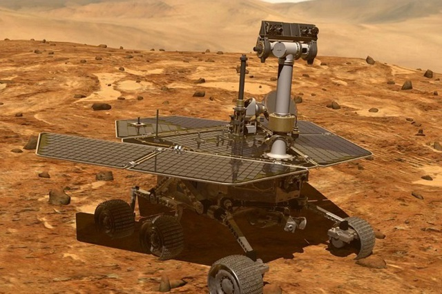 """Xe tự hành Opportunity đã ngừng hoạt động sau hơn 15 năm thám hiểm """"hành tinh đỏ""""  - 1"""