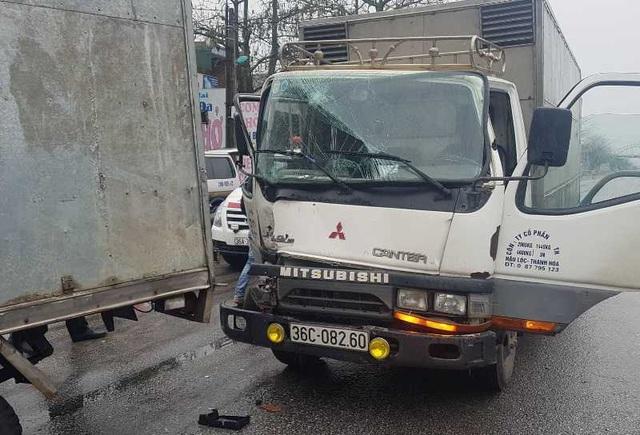 Nguyên nhân ban đầu vụ tai nạn liên hoàn giữa 7 xe trên quốc lộ 1A - 3