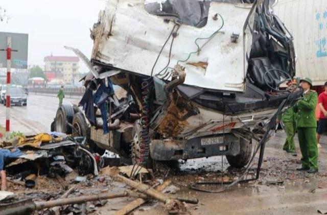 Nguyên nhân ban đầu vụ tai nạn liên hoàn giữa 7 xe trên quốc lộ 1A - 8