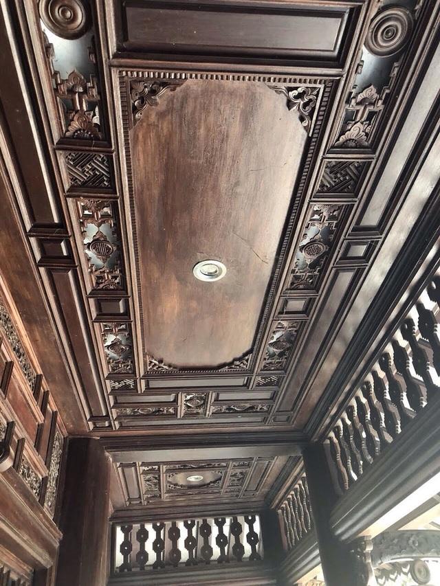 Biệt phủ gỗ 3D chục tỷ đồng: Nhà hoài cổ nét lạ của đại gia Việt - 4