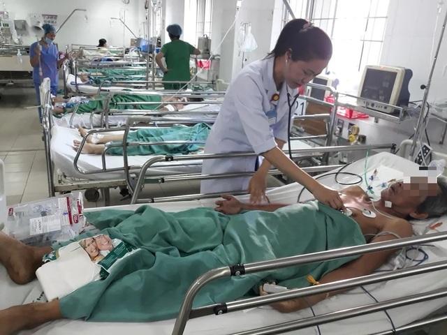 Hiện ông C. đang được theo dõi tại khoa ngoại Tổng quát Bệnh viện Đa khoa Trung ương Cần Thơ