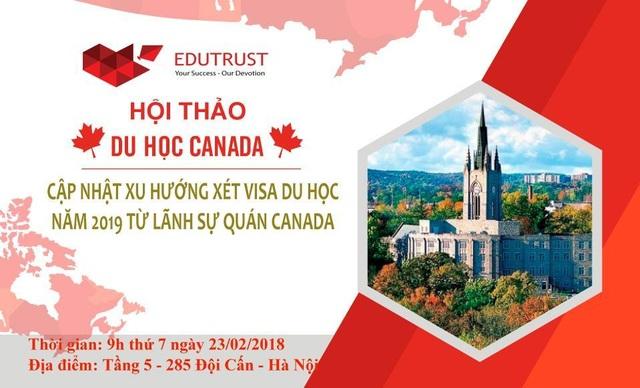 Cập nhật xu hướng xét visa du học năm 2019 từ lãnh sự quán Canada - 1
