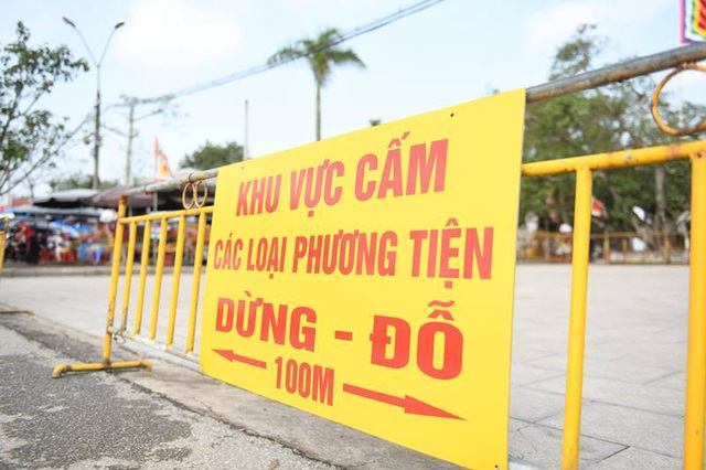 Huy động hơn 2.000 người tham gia bảo vệ lễ Khai ấn đền Trần - 3
