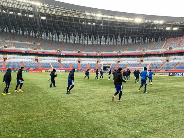 Hà Nội FC có thể thi đấu dưới tuyết ở trận gặp Shandong Luneng - 4