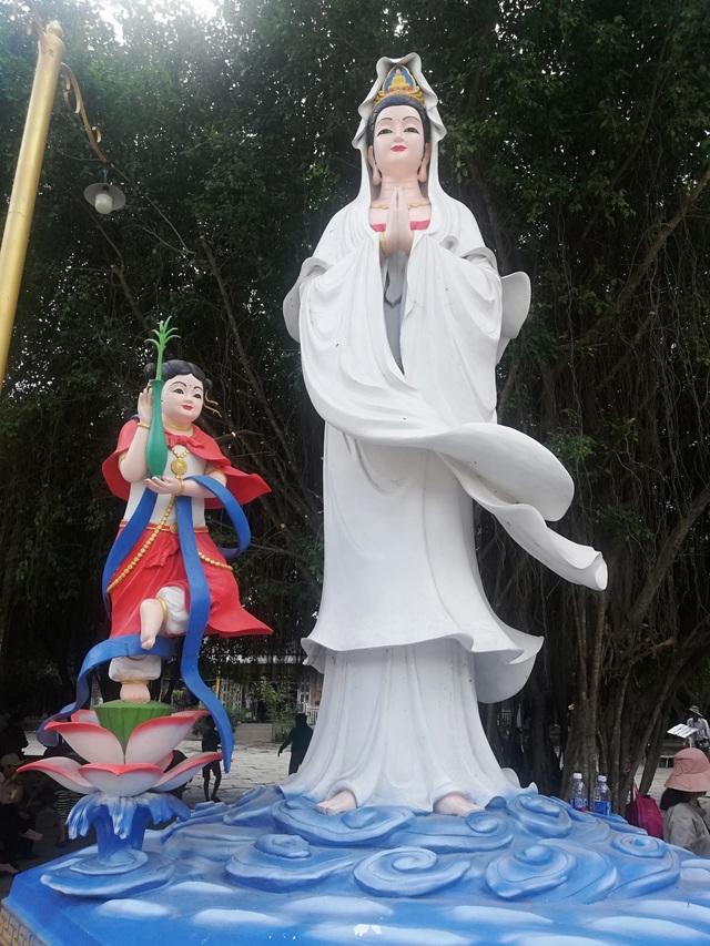Đầu năm, thăm ngôi chùa có tượng Phật Quan Âm cao nhất miền Tây - 22