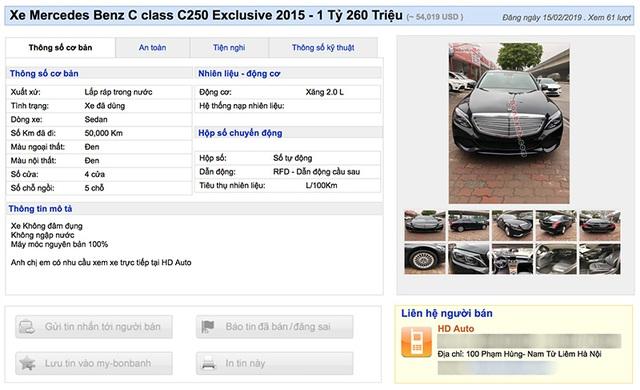 Mất 1,2 tỷ đồng mua Mercedes, khách ngã ngửa xe bị phù phép km - 5