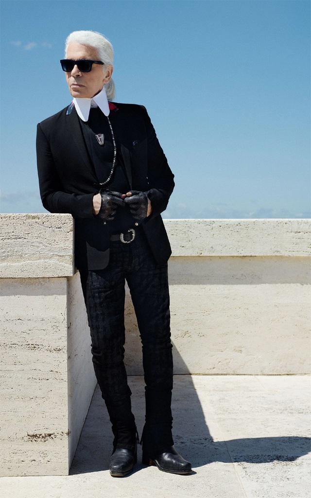 Karl Lagerfeld nói về những khách hàng mua 20 bộ váy trong năm phút - 1
