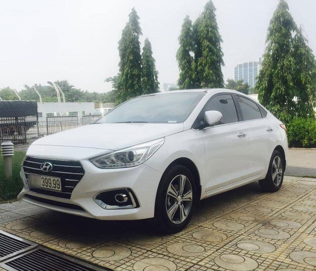 Hyundai Accent biển tứ quý 9 rao bán 850 triệu đồng - 2..jpg