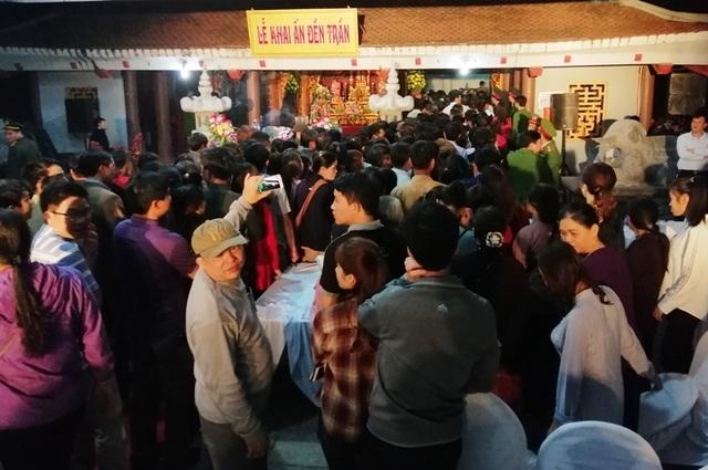 Báo cáo Bộ Văn hóa về việc phát ấn ở đền thờ Trần Hưng Đạo - 3