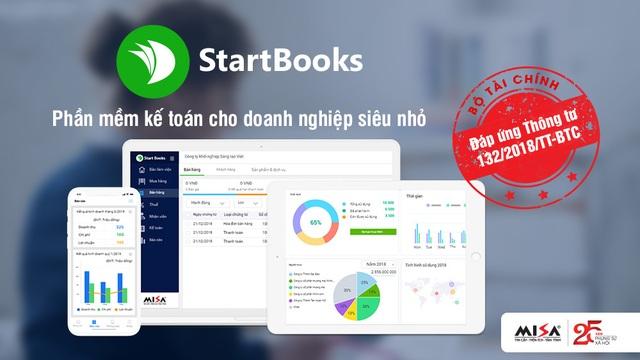 Ra mắt phần mềm kế toán đầu tiên cho doanh nghiệp siêu nhỏ MISA StartBooks.vn - 2