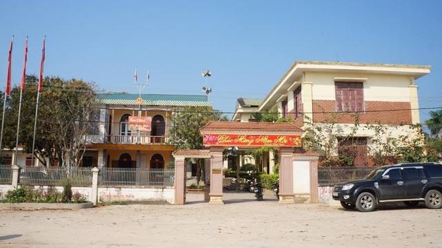 UBND xã Phúc Thành nơi ông Nguyễn Văn Lương  làm việc.