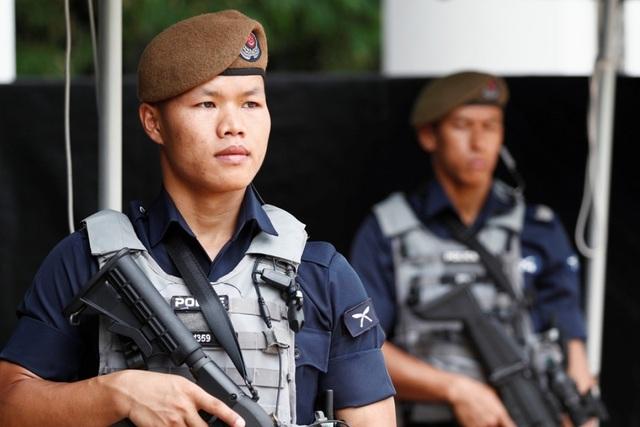 Sức mạnh đặc nhiệm tinh nhuệ bảo vệ thượng đỉnh Trump - Kim tại Singapore - 3