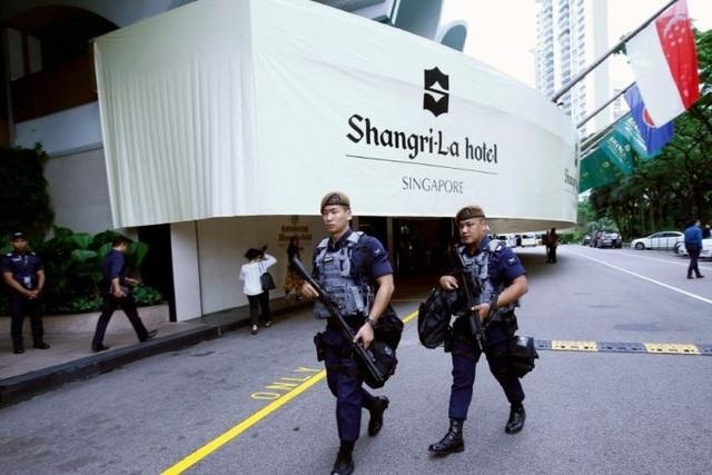 Sức mạnh đặc nhiệm tinh nhuệ bảo vệ thượng đỉnh Trump - Kim tại Singapore - 1