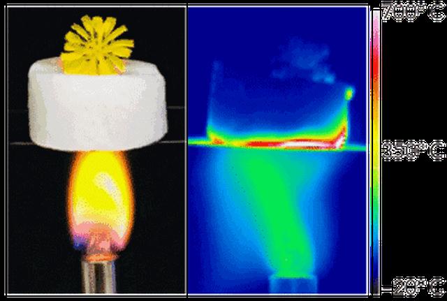Chế tạo thành công vật liệu cách nhiệt siêu nhẹ - 1
