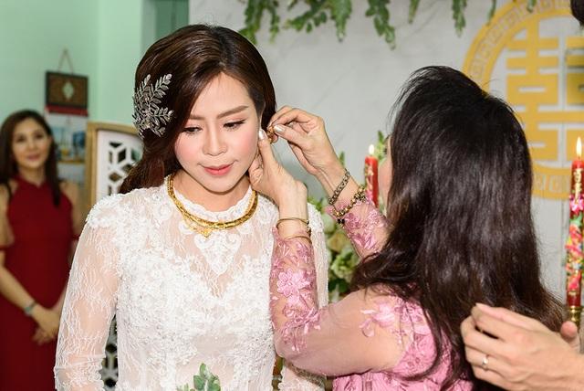 """Lễ vu quy ngọt ngào của diễn viên """"Gạo nếp gạo tẻ"""" - Vũ Ngọc Ánh - 14"""