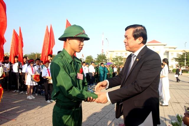 Lễ giao quân 2019 Quảng Nam