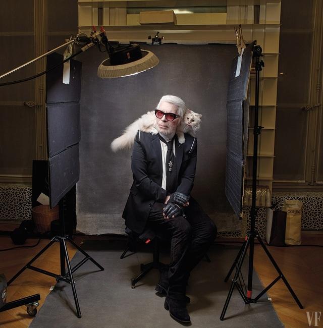 Karl Lagerfeld: Muốn giỏi nhất, phải nghĩ mình còn lười và còn kém - 5