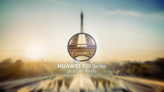 Huawei xác nhận ra mắt dòng P30 tại Pháp ngày 26/3 tới - 1