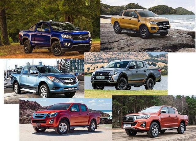 Xe bán tải nào bán nhiều nhất tháng 1/2019? - 1