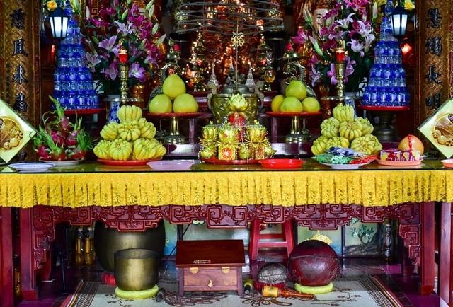 Kỳ lạ ngôi chùa không có hòm công đức, nổi tiếng với pho tượng táng độc nhất Việt Nam - 7