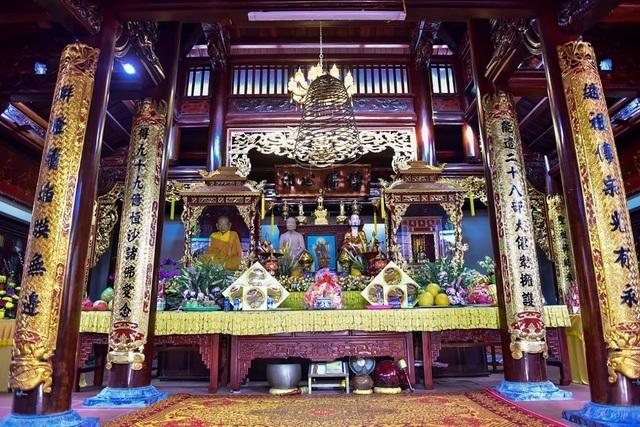 Kỳ lạ ngôi chùa không có hòm công đức, nổi tiếng với pho tượng táng độc nhất Việt Nam - 6