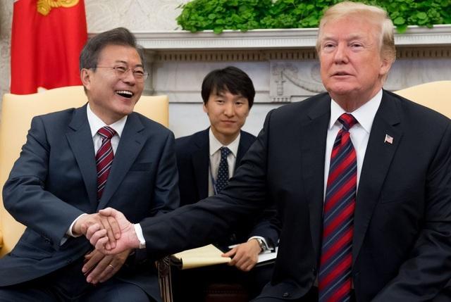 """Tổng thống Hàn Quốc """"hiến kế"""" cho ông Trump trước thượng đỉnh Mỹ - Triều - 1"""