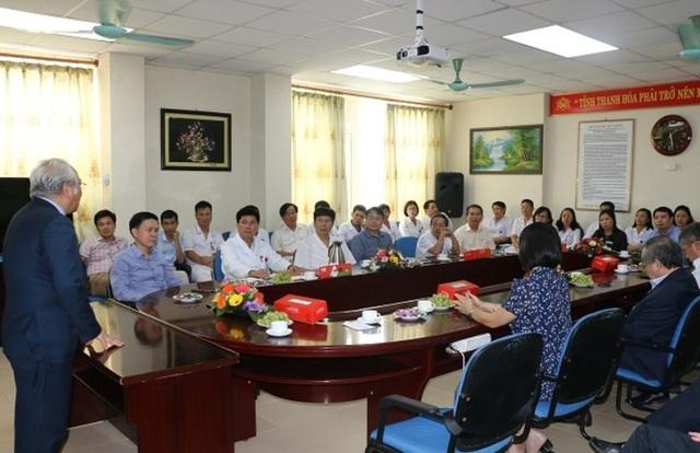 Bệnh viện Nhi Thanh Hóa là bệnh viện vệ tinh của Bệnh viện Nhi Trung ương - 2