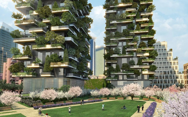 Khi cây xanh mọc trên bê tông cốt thép - giải pháp kiến trúc đột phá hoà hợp giữa Thiên nhiên và Con người! - 1
