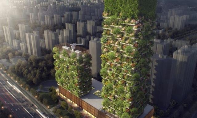 Khi cây xanh mọc trên bê tông cốt thép - giải pháp kiến trúc đột phá hoà hợp giữa Thiên nhiên và Con người! - 2
