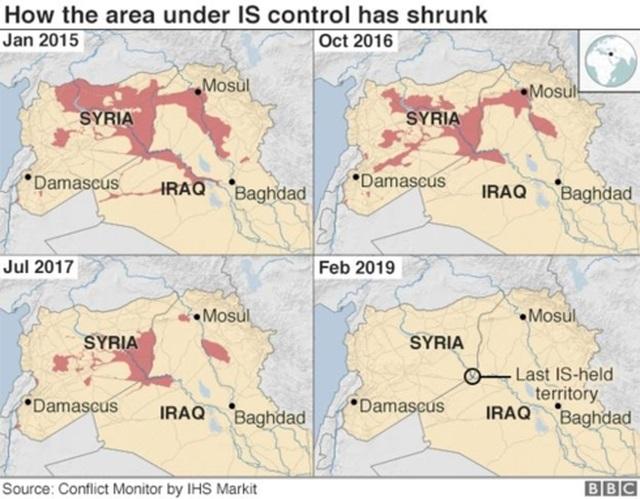 Bao nhiêu chiến binh IS ngoại nguy hiểm còn sót lại ở Iraq và Syria? - 2..jpg