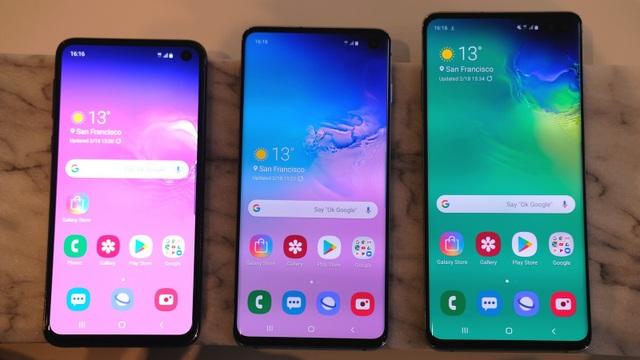 """Đọ cấu hình bộ ba Galaxy S10 cùng loạt """"đối thủ nặng ký"""" - 1"""